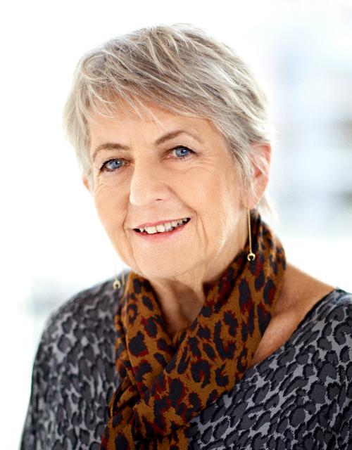 Portræt af healer Susanne Koch Larsen